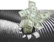 Maximizing Energy Efficiency | AC Texas - Duct_money